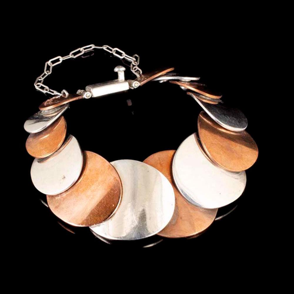 Jose Luis Flores Mexican modernist Bracelet