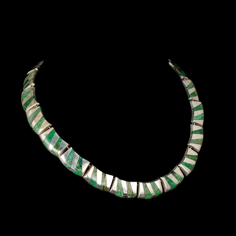 Enrique Ledesma Mexican silver stone Necklace