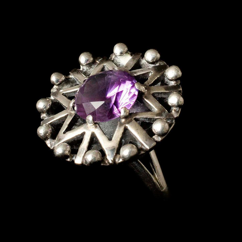 Carmen Beckmann Mexican silver star Ring
