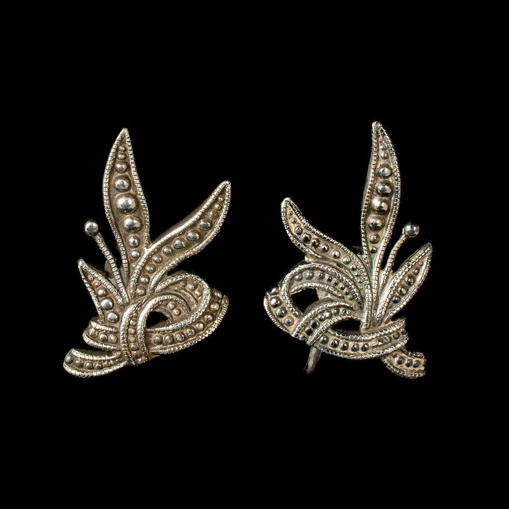 Margot de Taxco Mexican silver Earrings