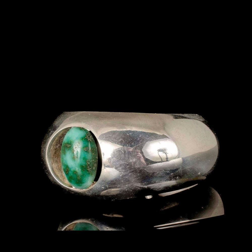 Antonio Pineda Mexican 970 silver agate Cuff Bracelet