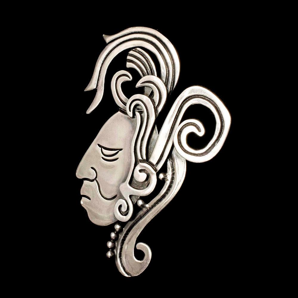 Doris Mexican silver figural Brooch