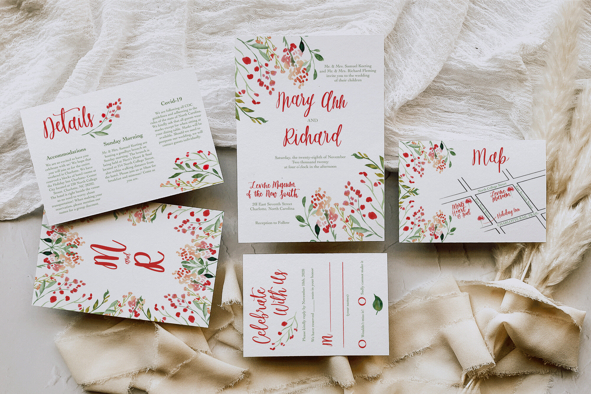 custom wedding invitations in pa
