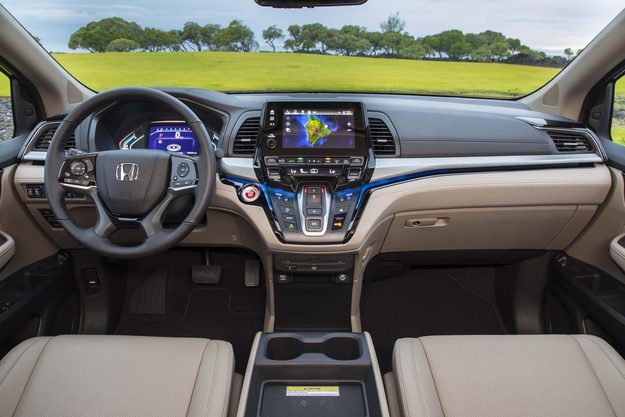 Vista a detalle: Honda Oddyssey 2021 — Angel Rojas - Auto