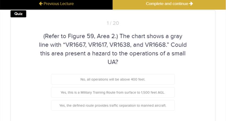 Module 3 Quiz: Airspace