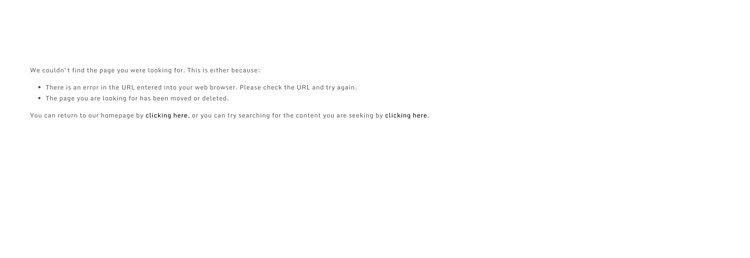 404 error demo
