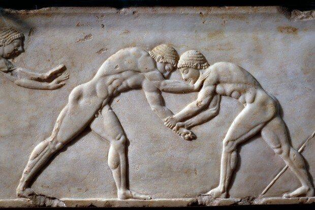 Greek Olympians Training