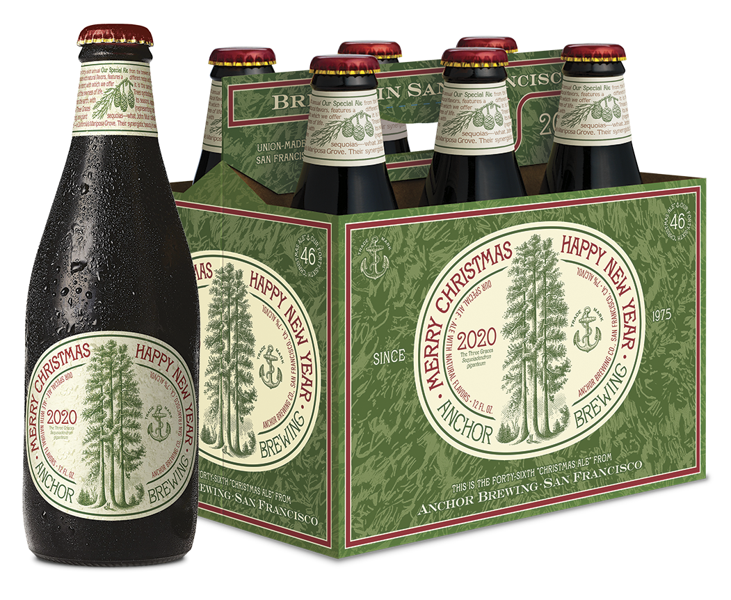 Anchor Steam Christmas Ale 2021 Anchor Brewing Reimagines Their Classic Christmas Ale For 2020 New School Beer Cider