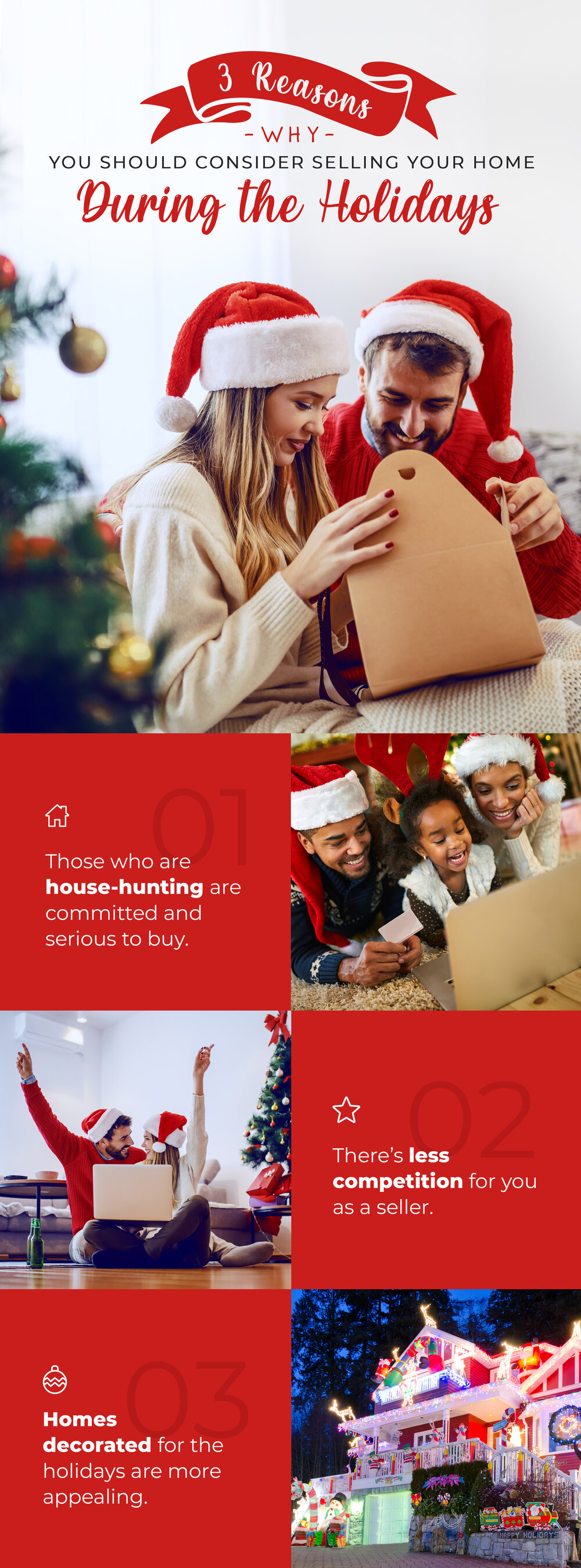 3 Wonderful Reasons Why The Holidays Are A Good Time To Sell Your House