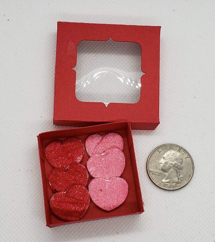 Heart Sugar Cookies in a Box