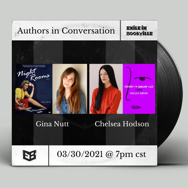 Gina Nutt Night Rooms event in conversation with Chelsea Hodson.