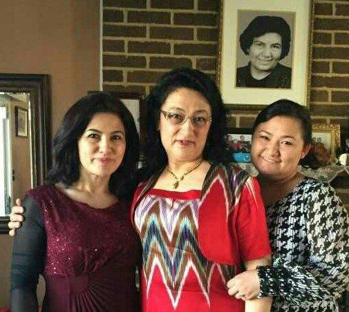 Image of Rushan Abbas, Dr. Gulshan Abbas, and Rushan's niece