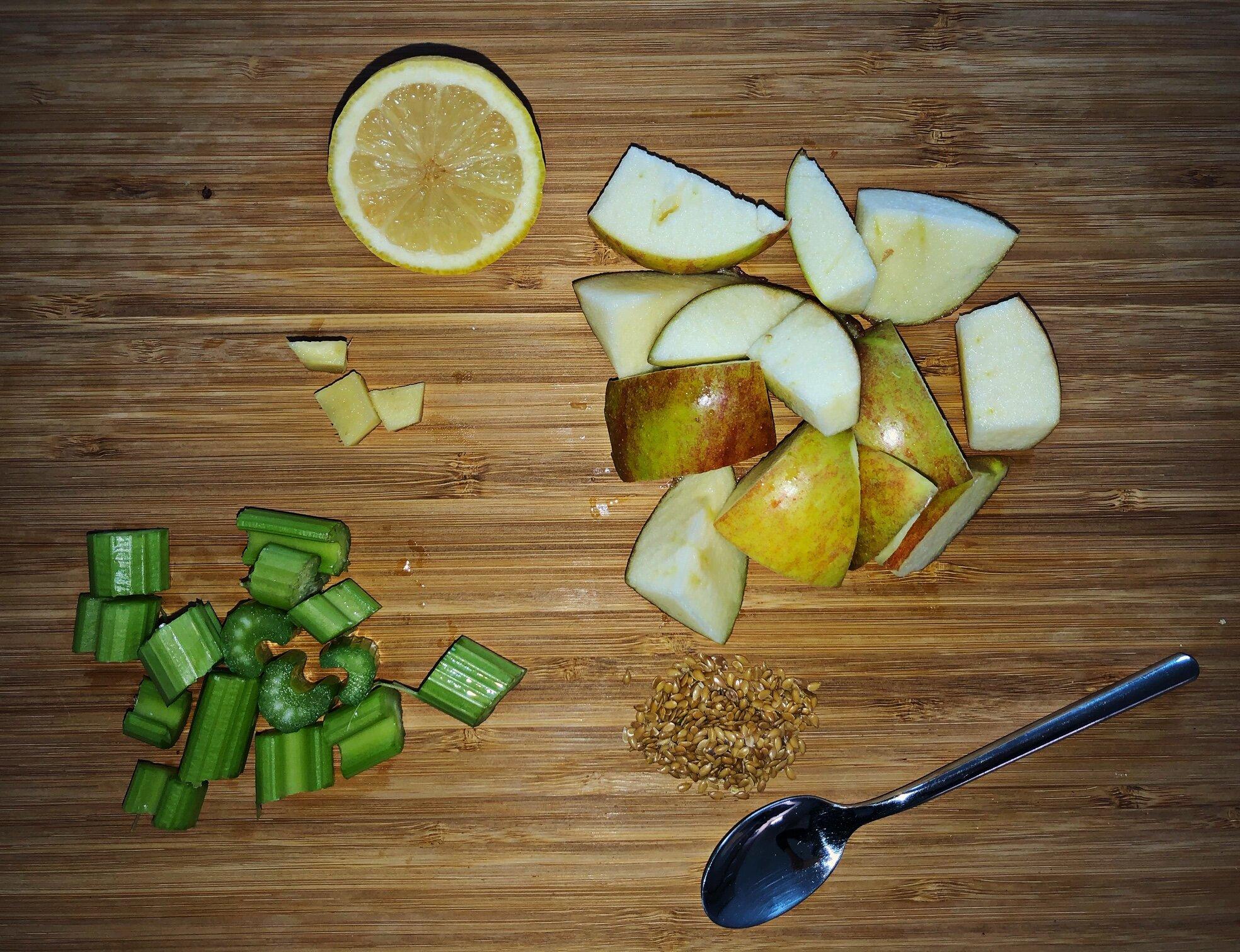 ingredients organic green detox juice
