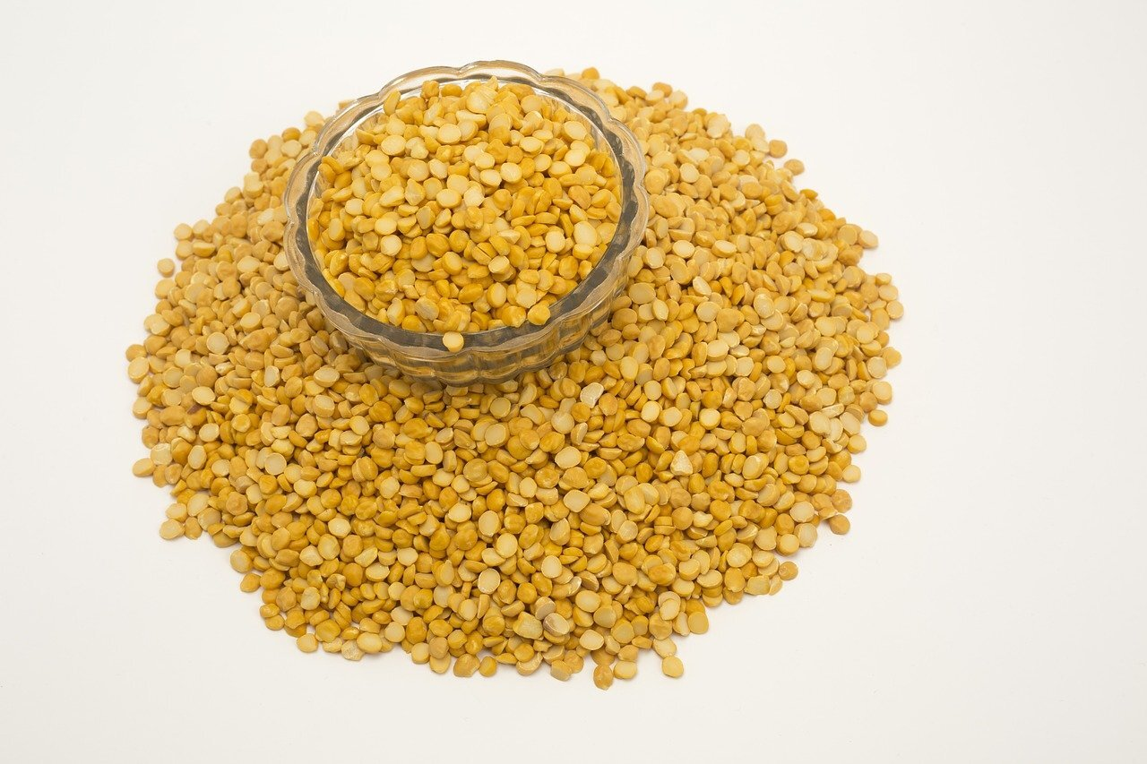 Split Yellow Peas for Daal