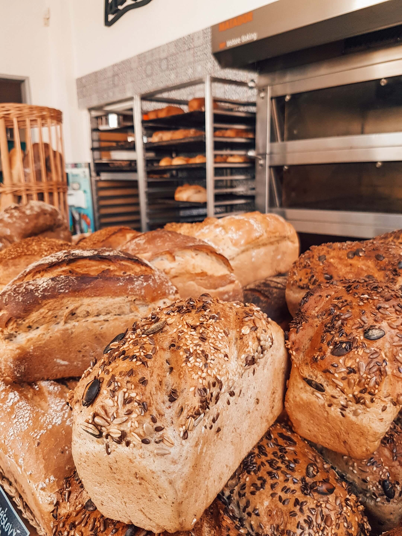 high calcium vegan bread and wraps