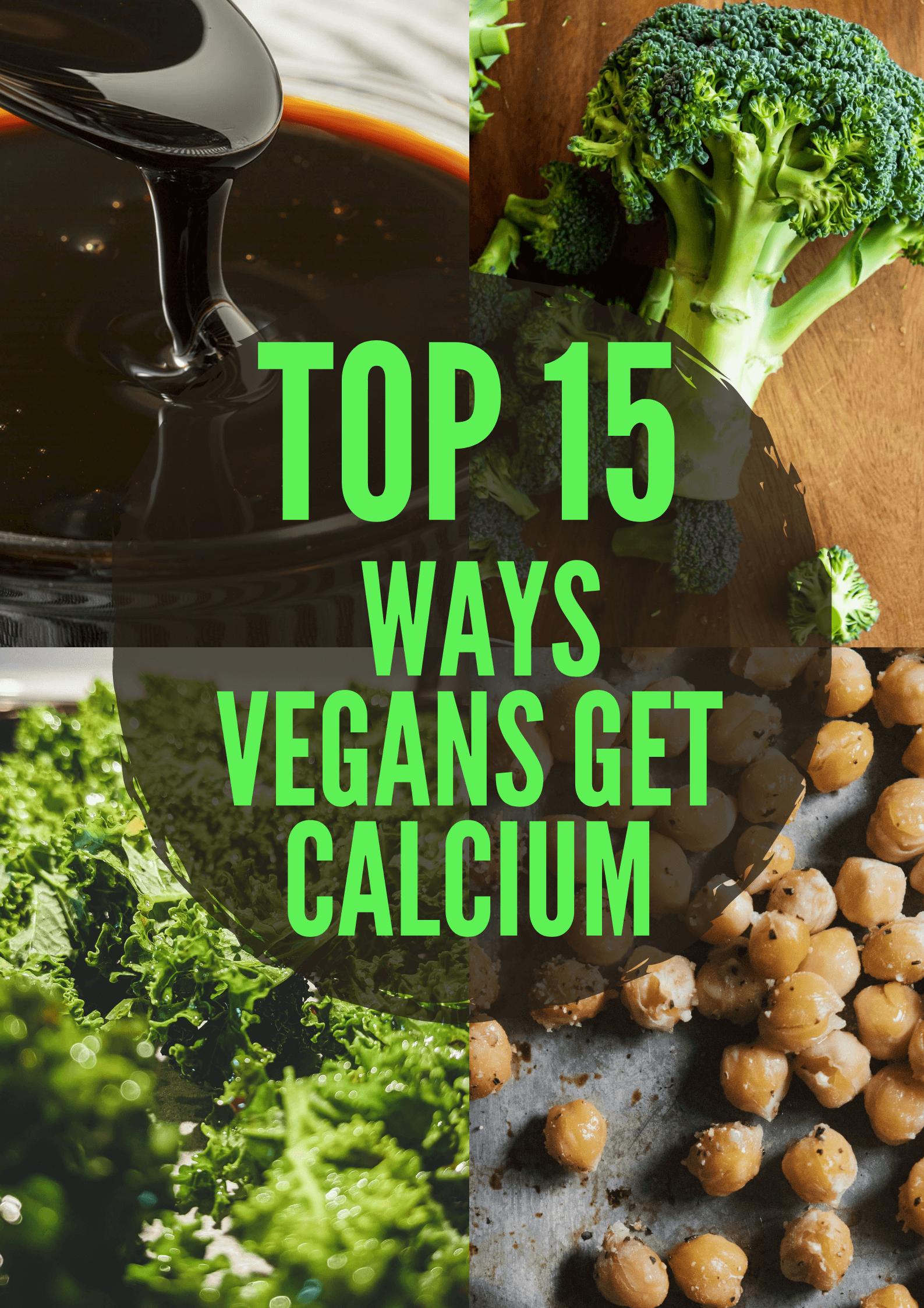 how do vegans get calcium