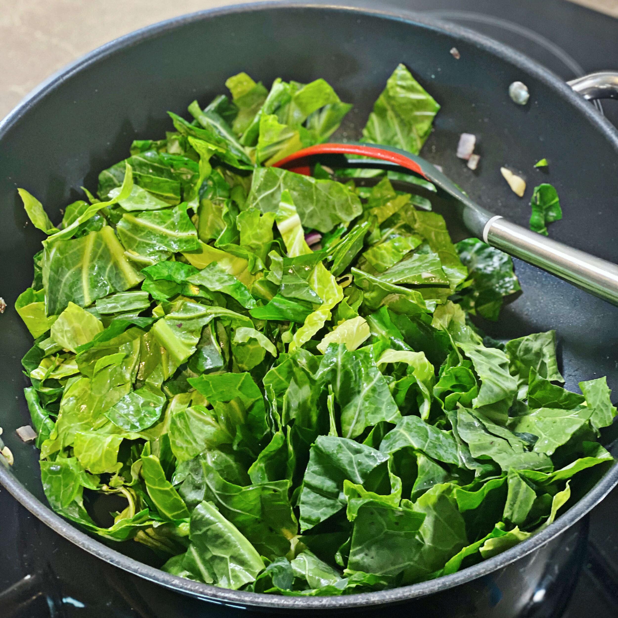 easy simple stir fried greens