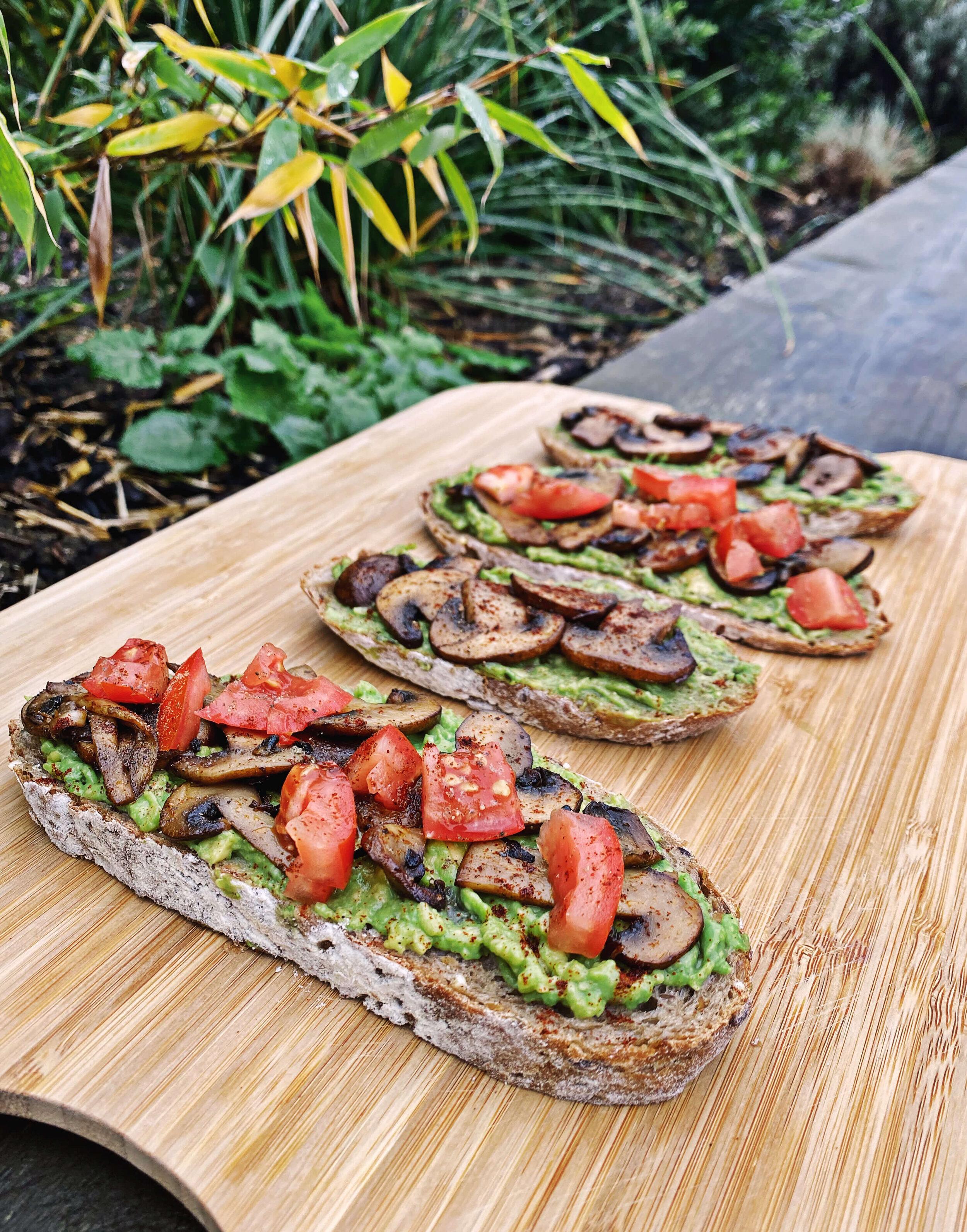 delicious vegan toast recipe
