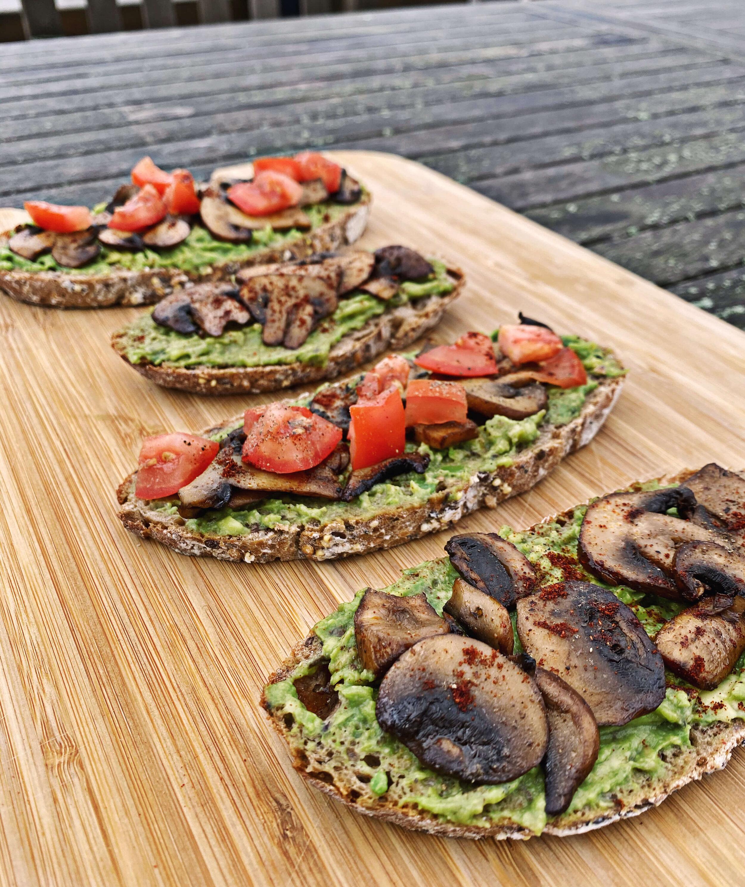 easy vegan mushroom recipe