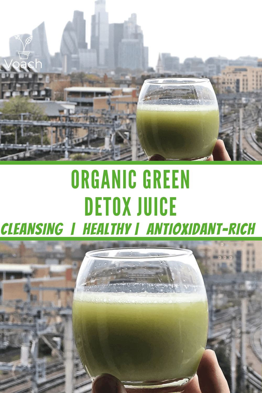 healthy green detox juice