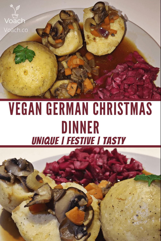 vegan german christmas dinner