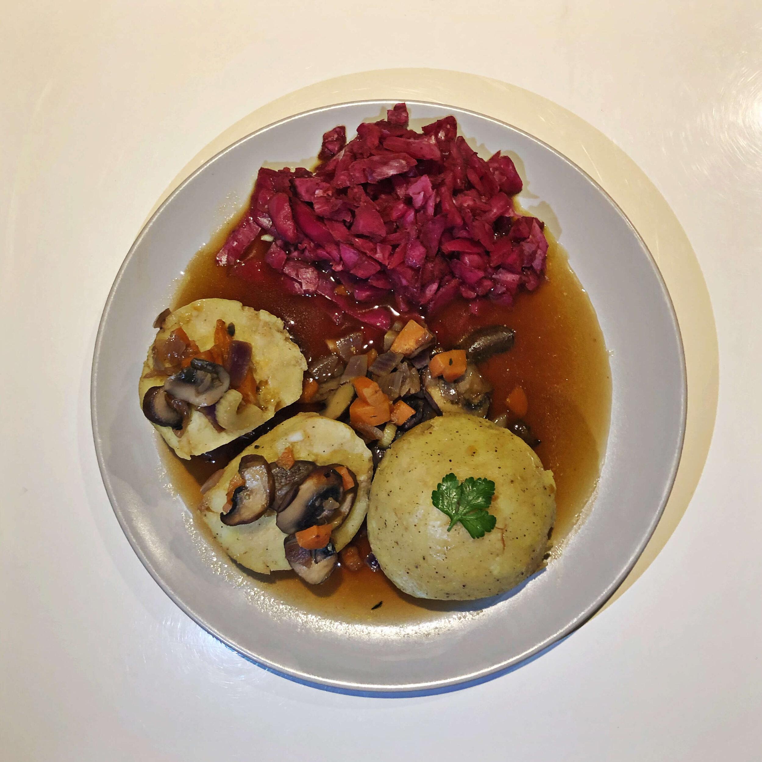 traditional german cuisine vegan recipe
