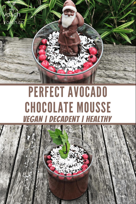 perfect avocado chocolate mousse recipe