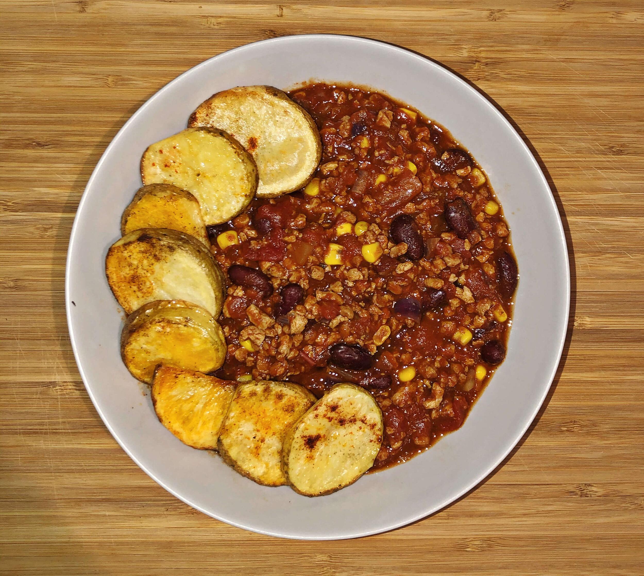 vegan chilli sin carne recipe