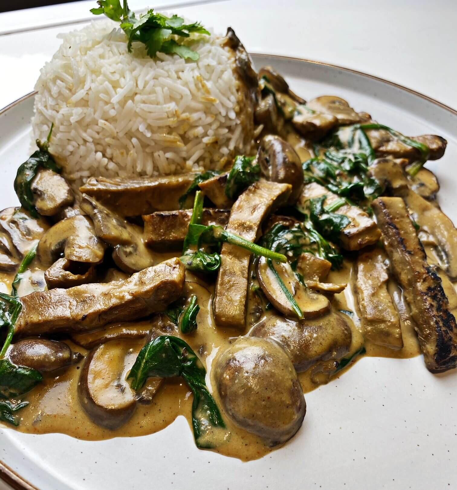high protein vegan dinner