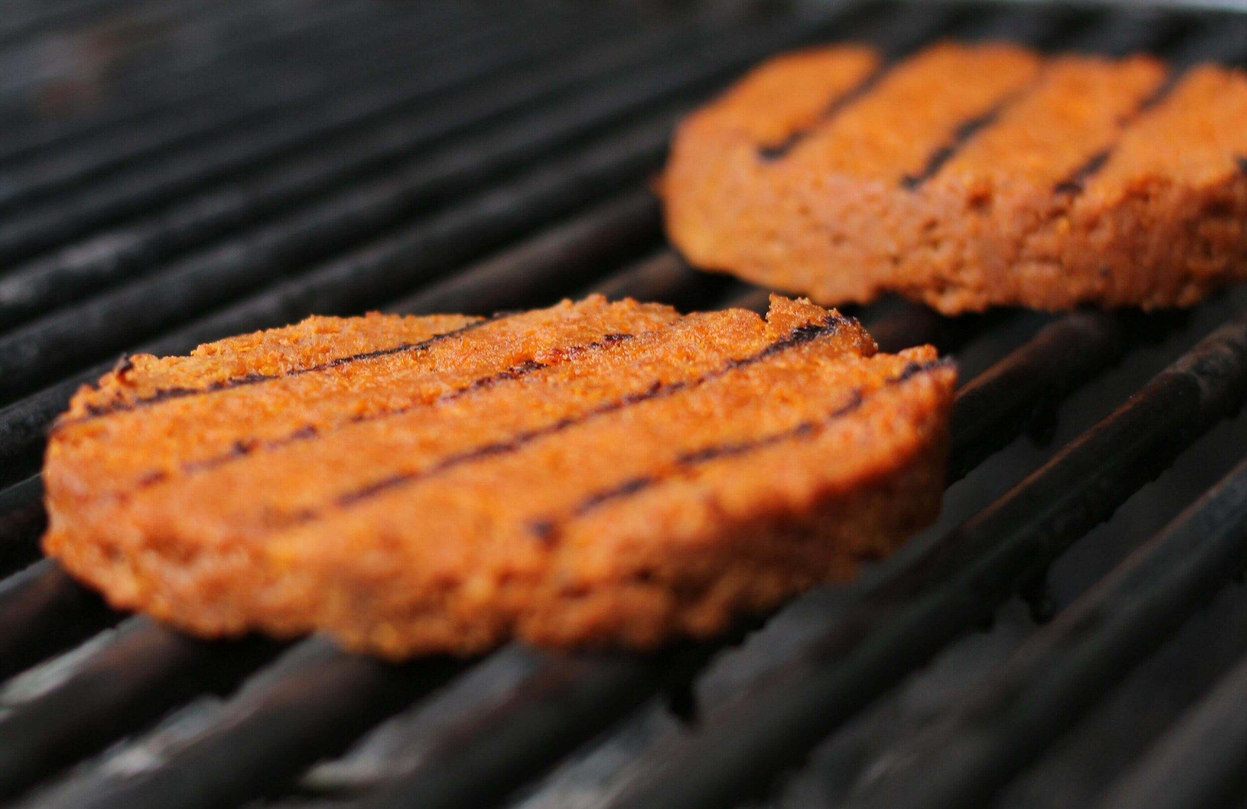 Healthy Seitan Vegan Burgers