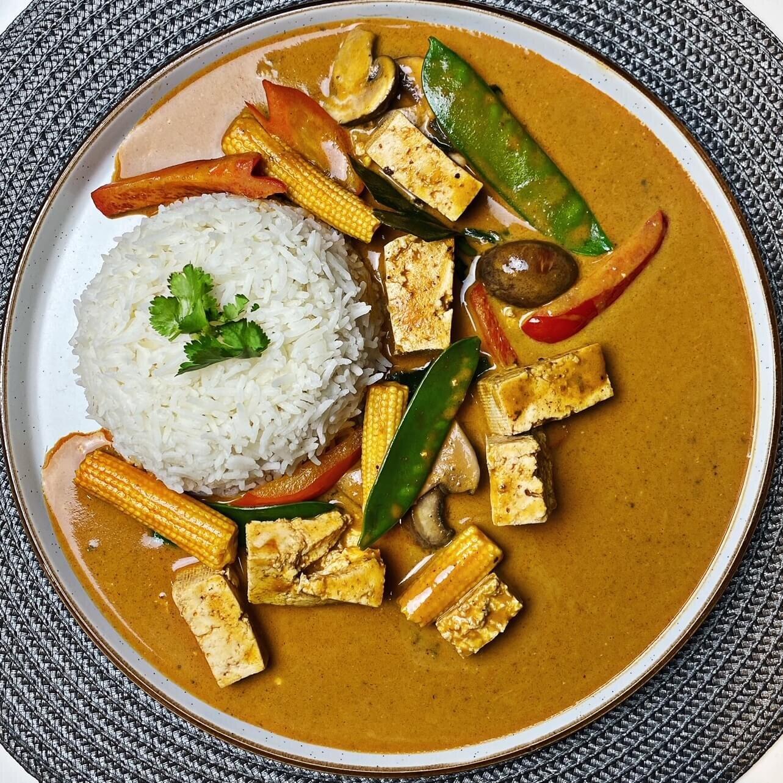 vegan thai red curry easy