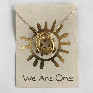 We Are One Link Necklace