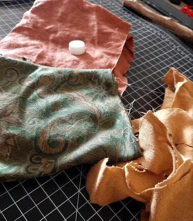 All scrap material left over from bigger projects, aka Cabbage