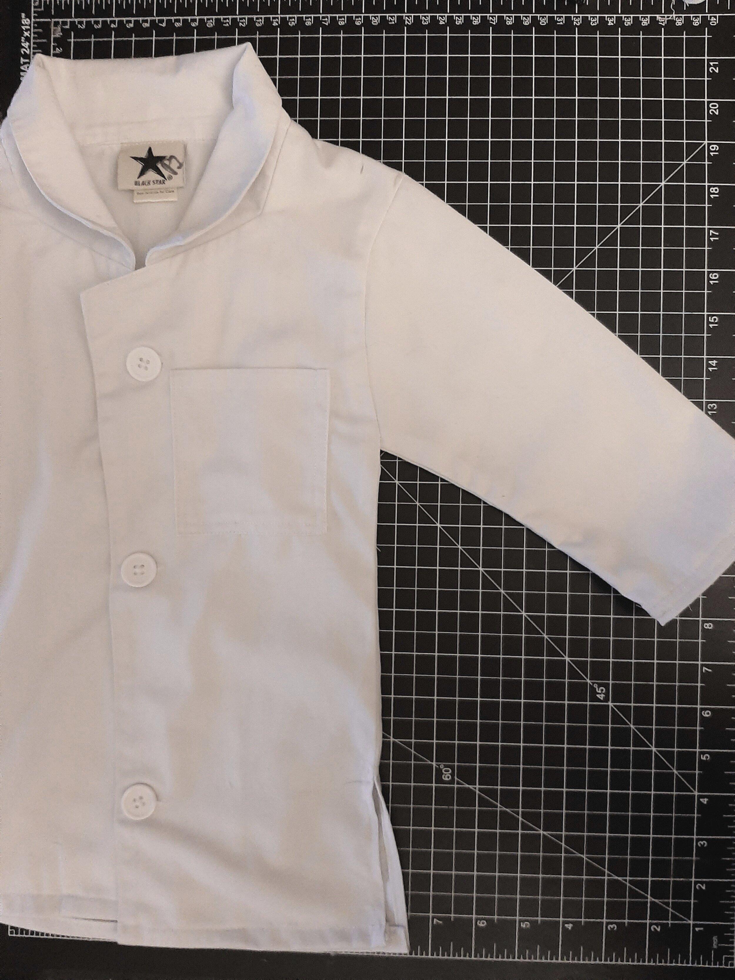 Labcoat fit for a toddler -