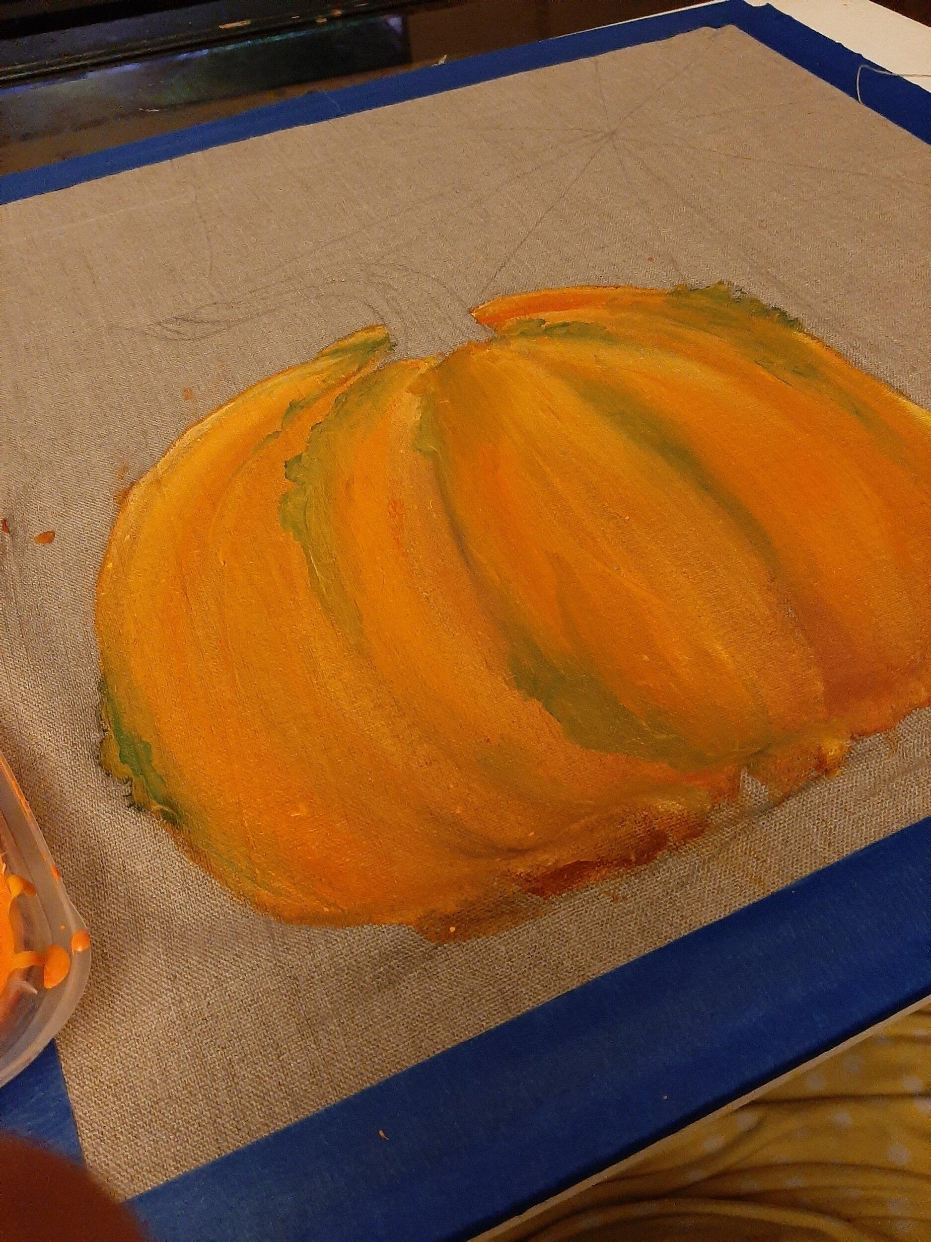 Adding knobbles to my pumpkin