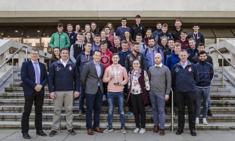 UCD students at Belfield Ag steps 2019.jpg