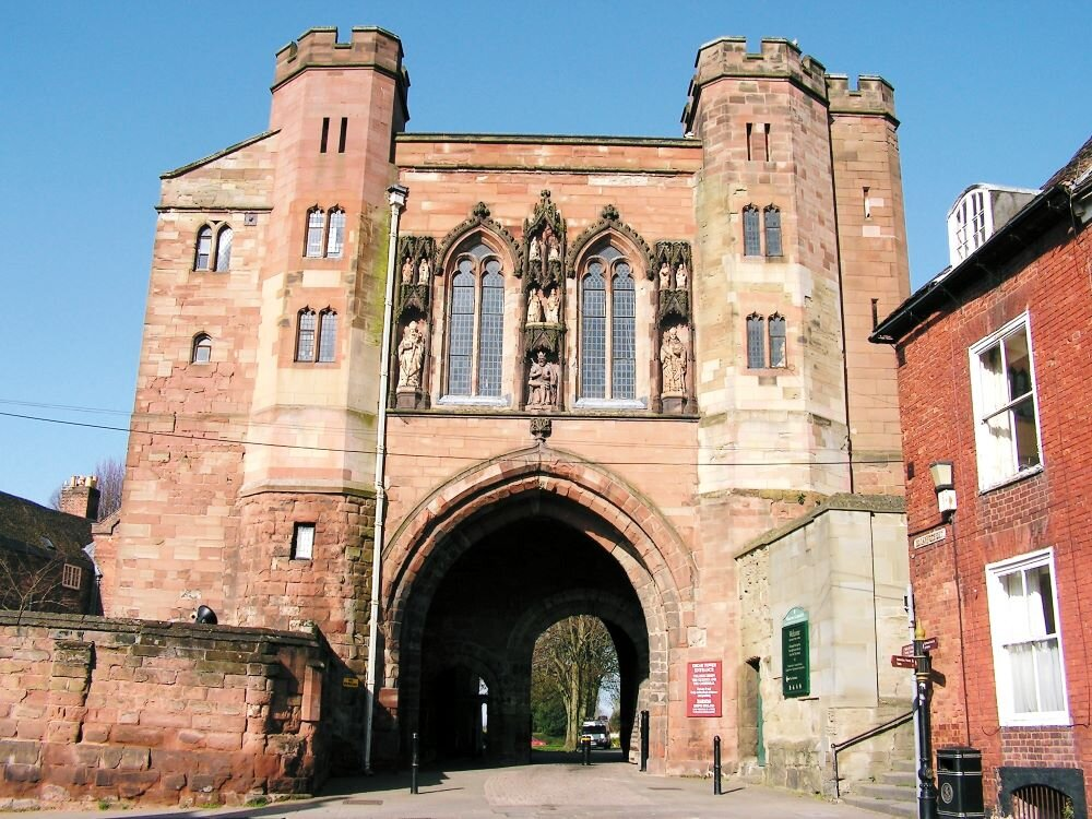 The Edgar Tower: Gateway to Worcester's Monastic Precinct  ( Picture Source )