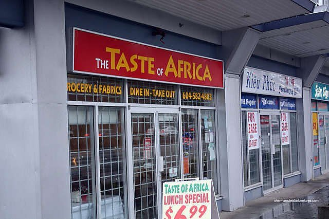The Taste of Africa - The