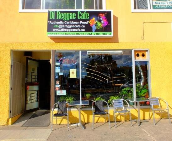 Di Reggae Cafe - Richie Husset13593 King George Blvd, Surrey, BC V3T 2V1info@direggaecafe.cacatering@direggaecafe.com