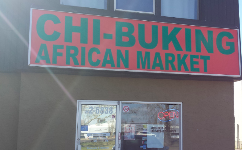 Chi-Buking African Market  - #2, 6838 - 50 Avenue, Red Deer, AB T4N 4E8Tel: 403 357-7800Cell: 403 877-4783Fax: 403 406-6800Mon - Sat        10 am - 8 pmSun              2 pm - 6 pmHolidays        Please call