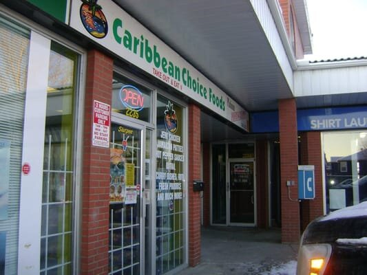Caribbean Choice Takeaway food and grocery shop 2235-2213 Centre St NW Calgary,ABT2E 2T4 - 403-230-1880caribbean.choice@hotmail.com