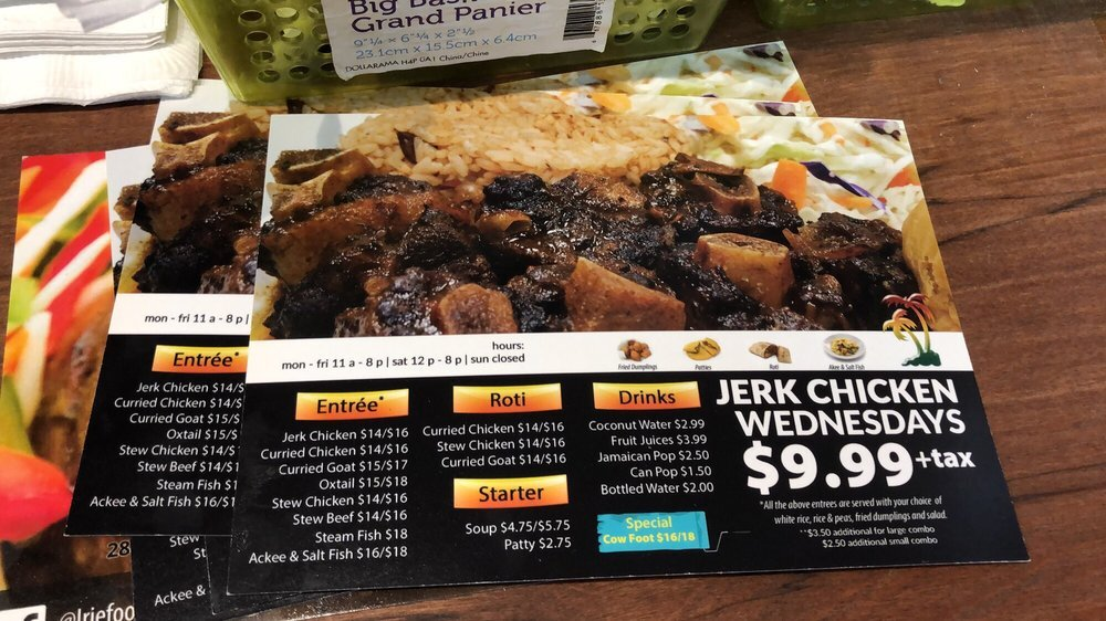 Irie Foods - 2807 Mill Woods Rd NW, Edmonton, AB T6K 4A9(780) 414-1341