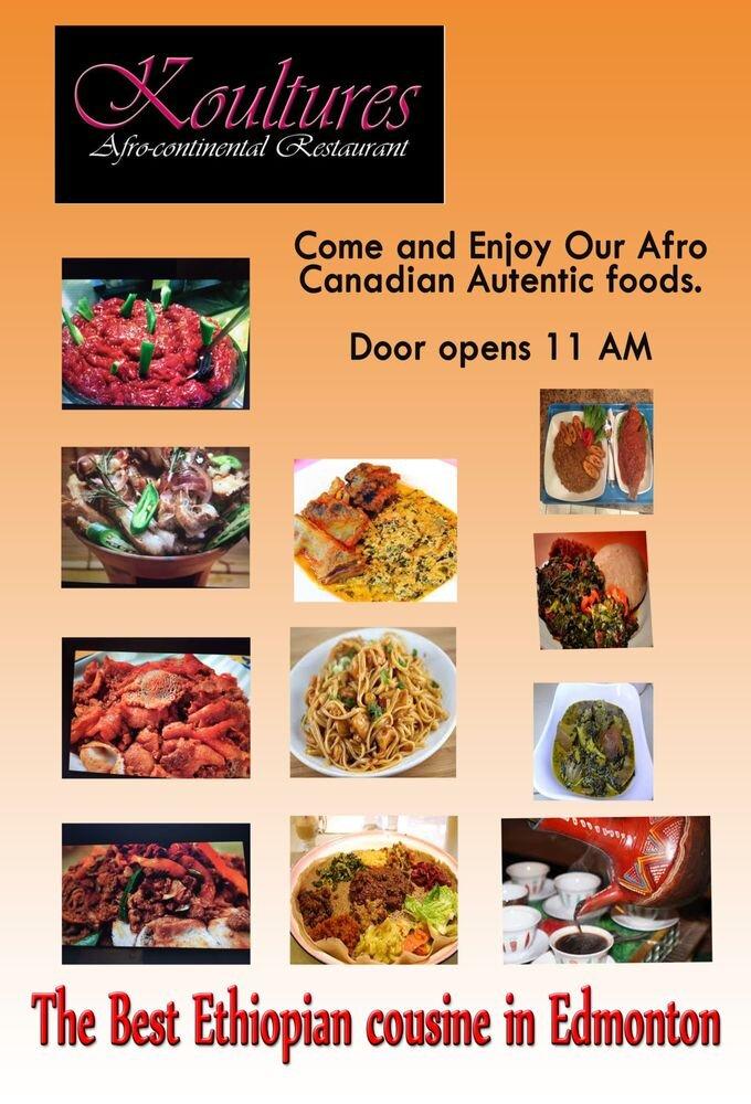 Koultures Restaurant - Edmonton, AB(780) 761-3008koultures@gmail.com