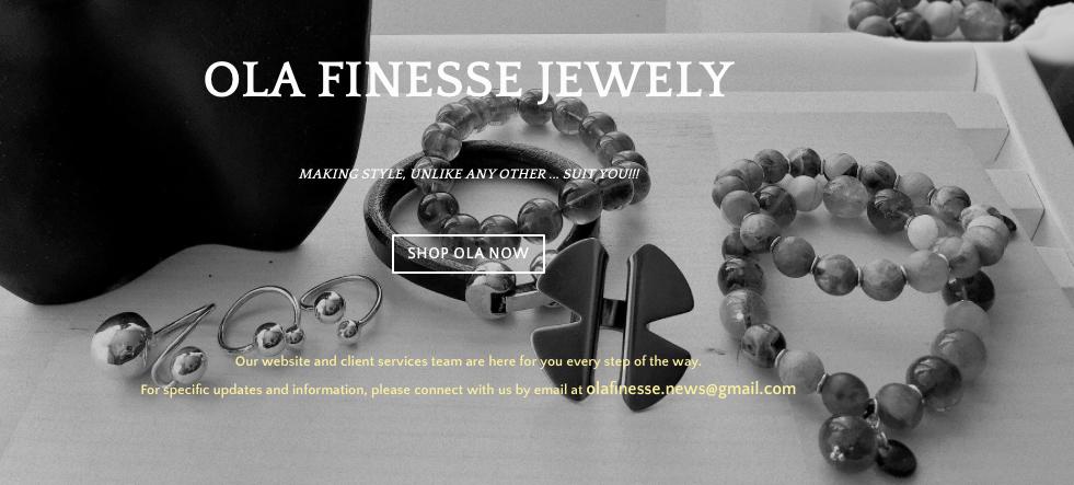 Ola Finesse JewelryMississauga, ON - olafinesse.news@gmail.com