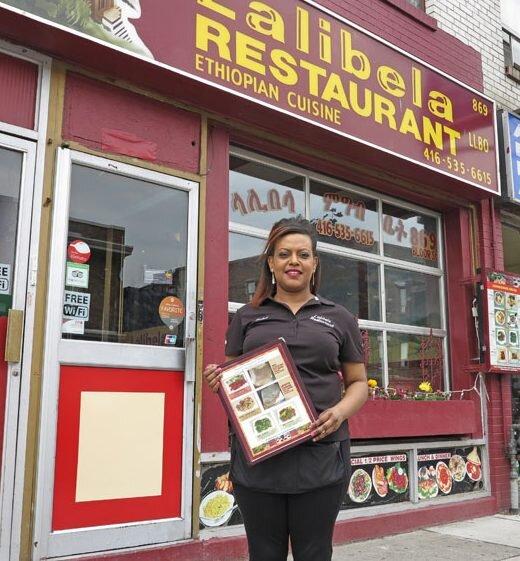 Lalibella Ethiopian Restaurant - 869 Bloor St W Toronto, ON M6G 1M4(416) 535-6615