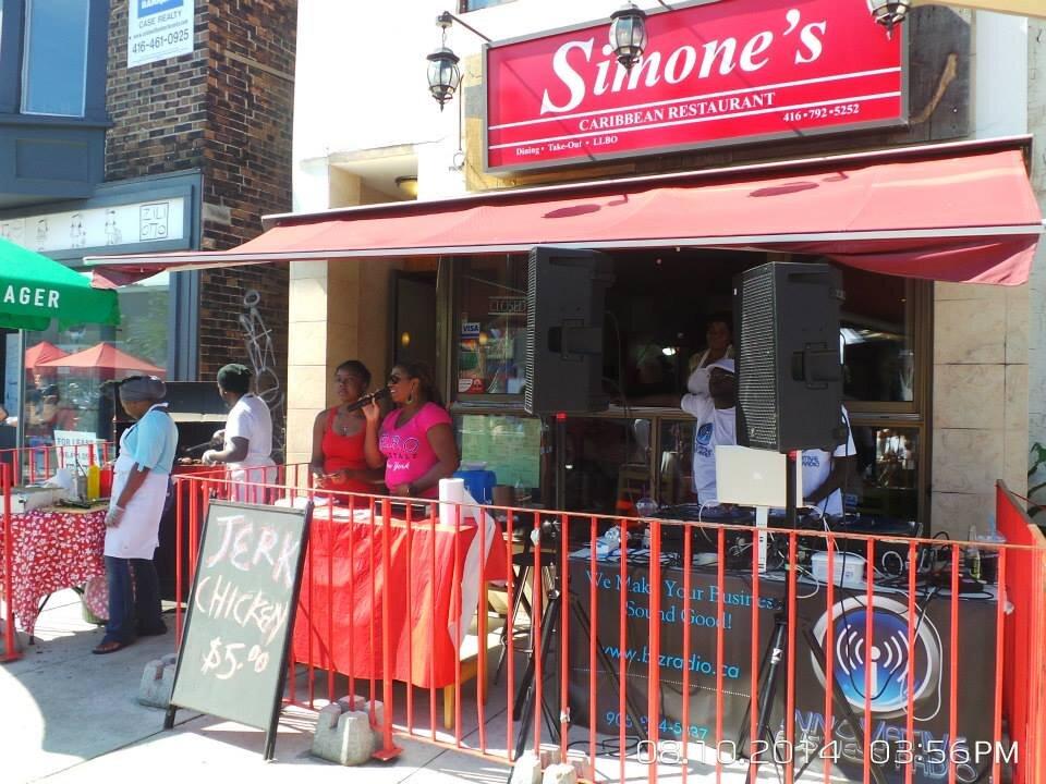 Simone's Caribbean Restaurant592 Danforth Ave 2nd floor, Toronto, ON M4K 1R1 - (416) 792-5252simoneogilvie@gmail.com