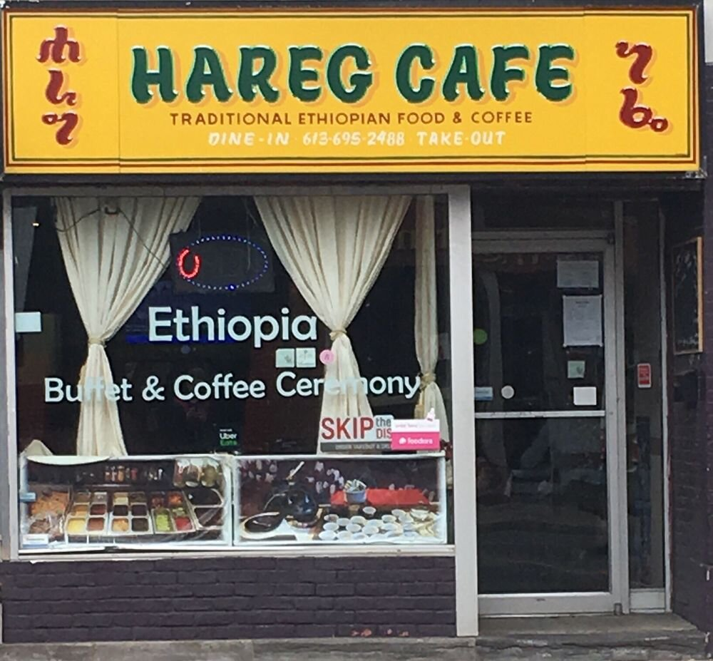 Hareg Cafe & Variety  - 587 Bank Street Ottawa, ON(613) 695-2488