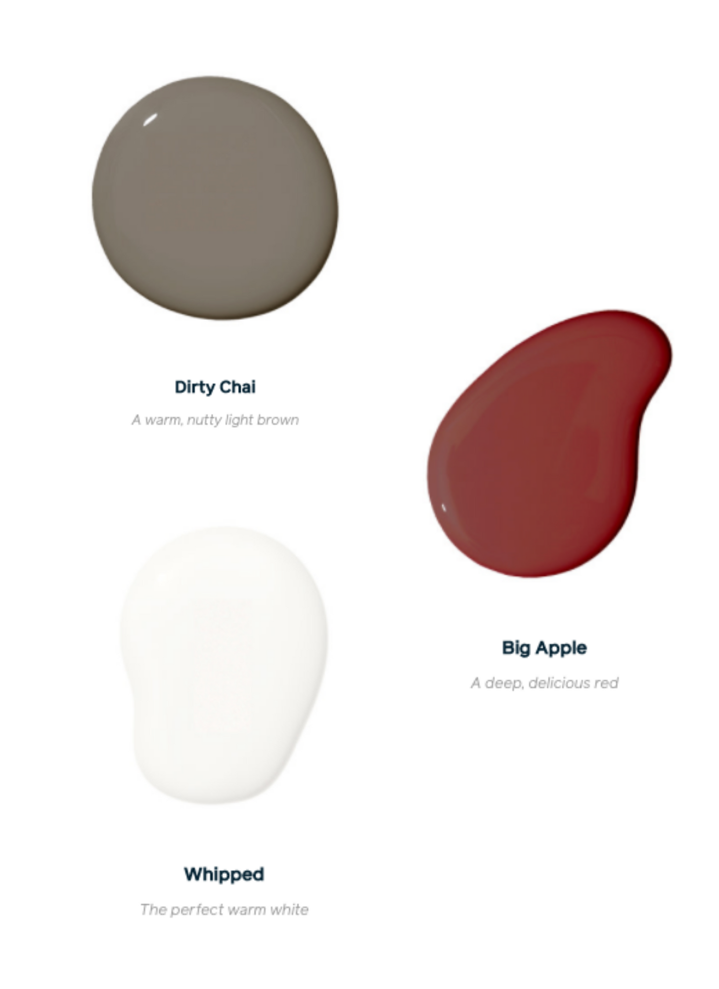 Clare Paint Samples