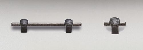 "IF-N: Iron Forgings  Weathered Nickel 3 3/4"" C-C"