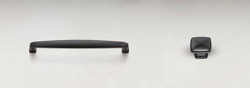 """ML96-B: Milan  Gun Metal Black 3 3/4"""" C-C"""